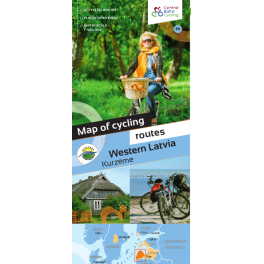 Cycle Map Kurzeme in English