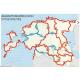 Cycle Map ESTONIA 2014