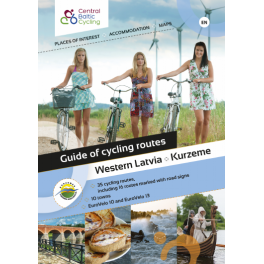 Cycle routes in Kurzeme (booklet) in GERMAN
