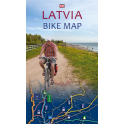 Latvia Bike Map 2015