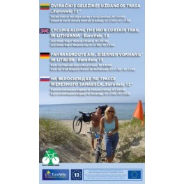 Bicycle Map Western Lithuania & Klaipeda - Iron Curtain Tail (PAPER COPY)