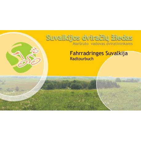 Suvalkija. Fahrradring Wegbeschreibung Deutsch. DIGITALE VERSION